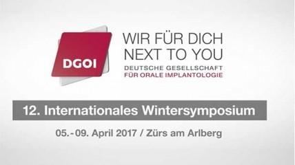 12. Internationales Wintersymposium der DGOI