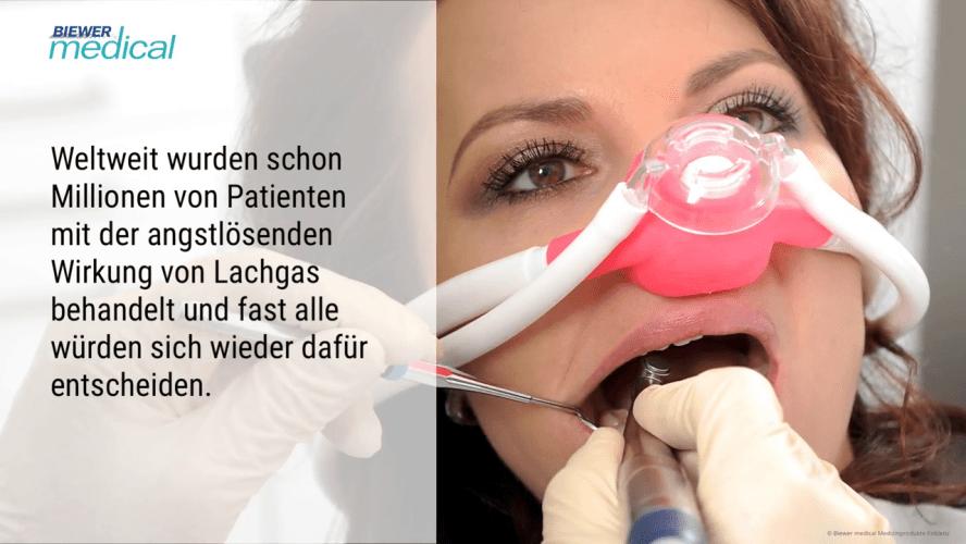 Zahnarztangst mit Lachgas behandeln – sicher und kostengünstig