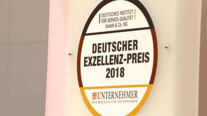 BLUE SAFETY erhält Deutschen Exzellenz-Preis 2018