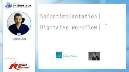 Nobel Biocare Webinar: Digitaler Workflow bei Sofortimplantation