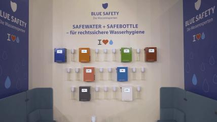 Die Wasserexperten BLUE SAFETY @ IDS 2019