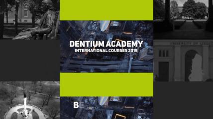 Dentium Academy – Das sind die Kurse 2019