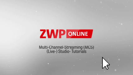 Multi-Channel-Streaming (MCS) – (Live) Studio-Tutorial