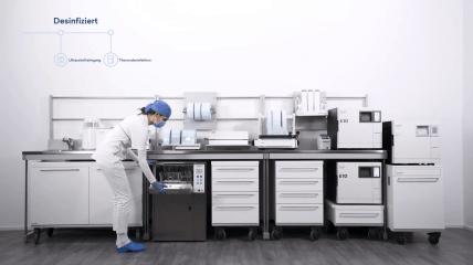 Euronda Pro System – Zur Verbesserung der Praxishygiene