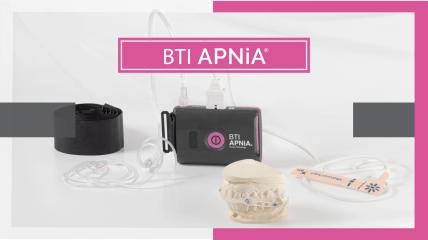 BTI APNiA® – Sichere Diagnose und Behandlung von Schlafapnoe