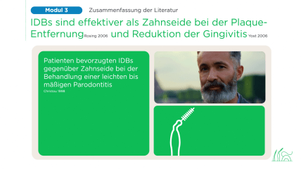 Virtuelle Schulung von Sunstar zur Interdentalreinigung | Modul 3 Behandlung
